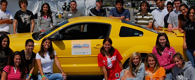 Ford Driving Skills for Life aims to reduce the number of teen vehicle crashes in America.