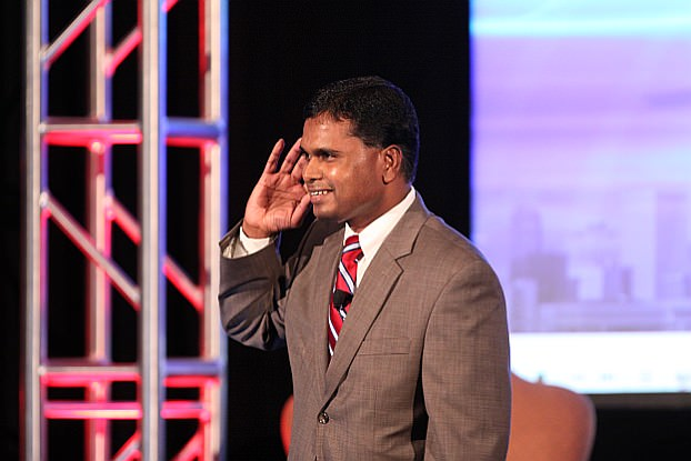 Tel K. Ganesan, President of TiE Detroit (photo by Robert Brodbeck - brodbeckphoto.com)