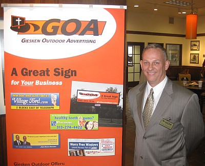 Tom Giesken - of Giesken Outdoor Advertising