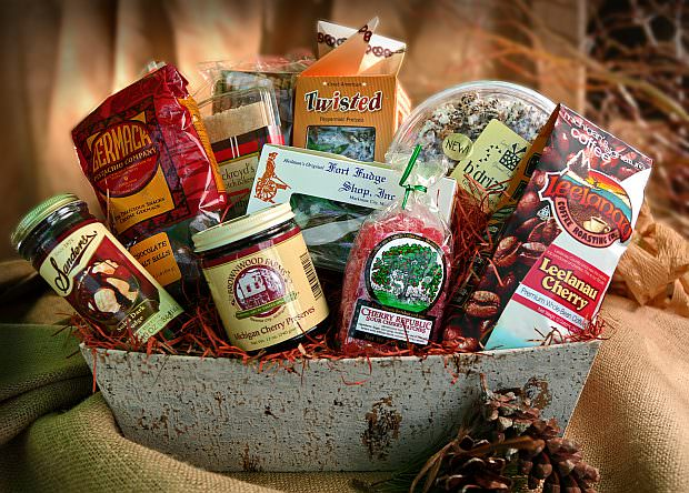 Pride of Michigan Gift Basket