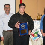 2010 Harry A. Sisson Memorial Scholarship winner