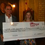 La Pita Donates $1,000 to Save Our Pools