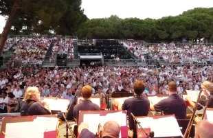 Big Band's View of Crowd