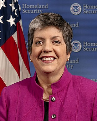 Janet Napolitano - official portrait