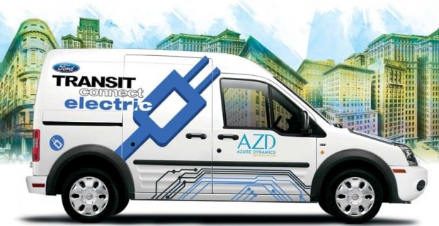 Ford Transit Connect Electric Vehicle