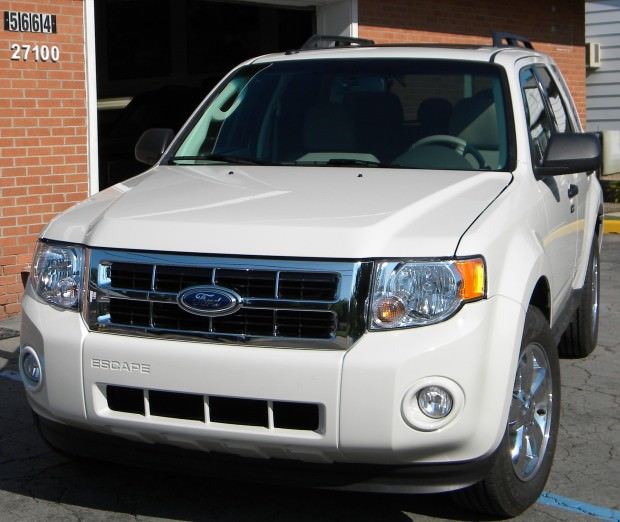 After photo of Ford Escape repaired by Korte's Collision