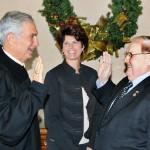 William C. Hultgren (left); Julie Pucci (center); State Representative Gino H. Polidori (right).