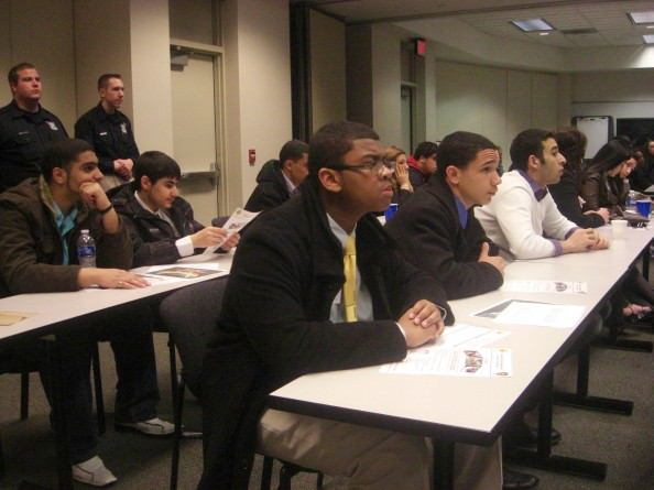 Students from all seven Dearborn high schools participated in the Dearborn Youth Police Academy, learning about the Dearborn Police Department, law enforcement careers and the role of officers as resources for the community.