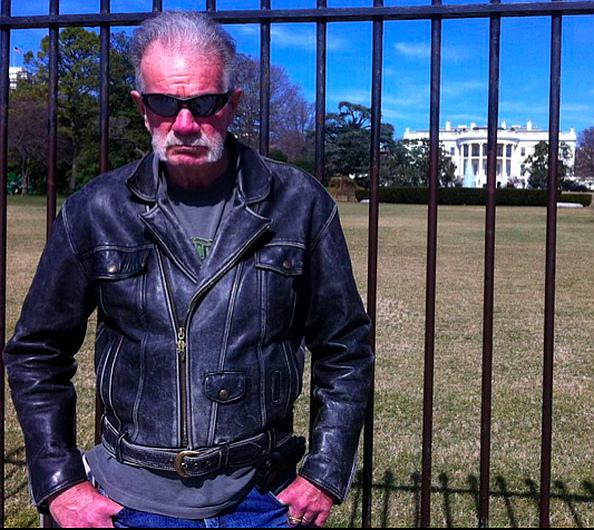 Terry Jones at the White House