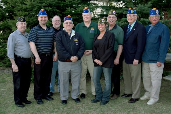 The committee is headed by DAWVC Commander Craig Tillman (center). Other members are (from left) Phil Smith, Gary Tanner, Greg Price, George Harvey, Lisa Schiffer, Tom Wilson, John Ruselowski and Tom Houle.