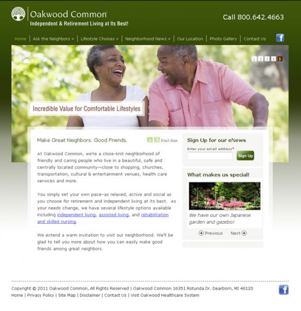 Oakwood Common Homepage