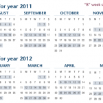Recycling Calendar Through June 2012 Now Available