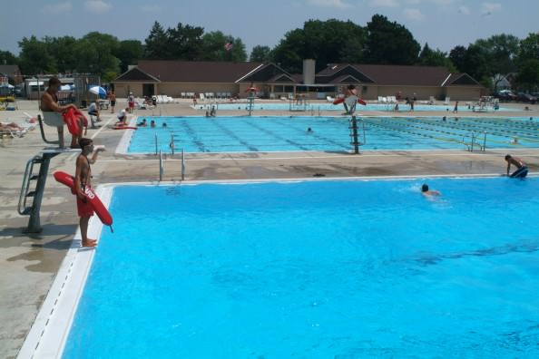 Dunworth Pool at Levagood Park in Dearborn is open for enjoyment. The pool, the largest in Dearborn, can hold more than 1,000 people. It has a zero-depth entry pool, a large lap pool and a separate diving well.