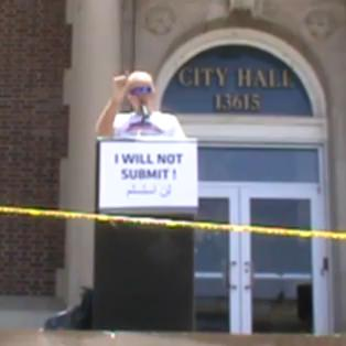 Terry Jones - Speech at Dearborn City Hall
