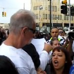 Terry Jones vs. BAMN Protestors
