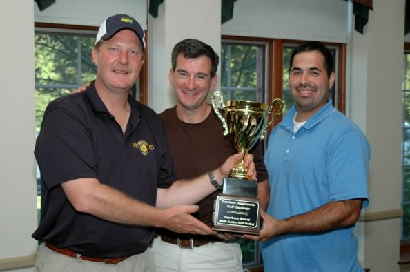 Last year's 2010 Hugh Archer Golf Outing included a City of Dearborn Departments' Golf Challenge won by the Police Department team of Mike Maurier, from left, Steve White, Madou Bazzi and Dave Ryan, not pictured.