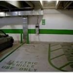 Electric Vehicle Use Only Parking Space