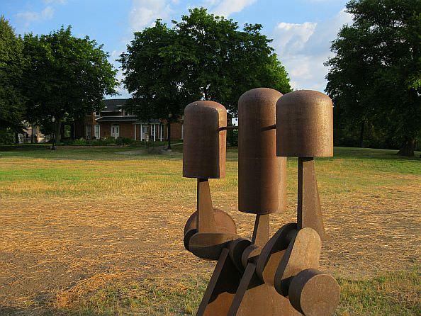 Pistons - Near Dearborn Historical Museum