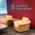 Lobby of Innovative Teleservices in Allen Park