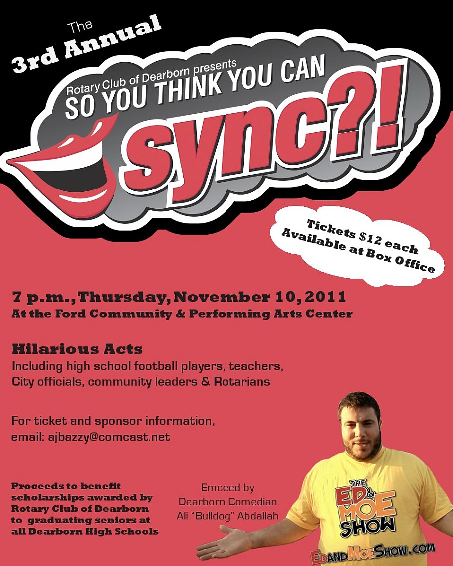 3rd Annual - So You Think You Can Sync? - Dearborn
