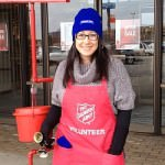 Amal Berry-Brown Rings Charity Bell at Fairlane Mall