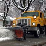 Snowplow in Dearborn