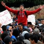 Middle East - college protesters