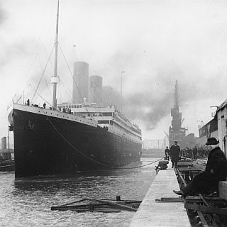 Titanic at Southhampton