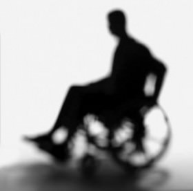Person in wheel chair