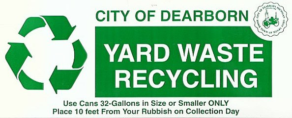 City of Dearborn - Yard Waste Re-cycling