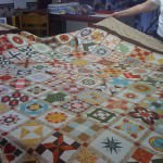 This quilt was created by the General Henry Dearborn Quilting Society and will be raffled during its exhibit April 27-28.