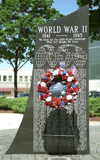World War II War Memorial in Dearborn