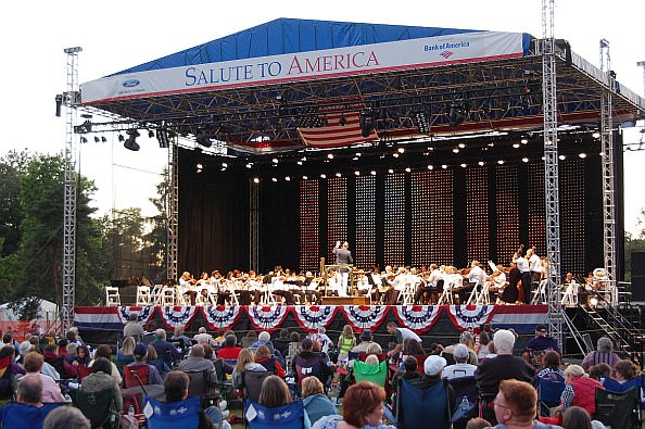 Salute to America concert