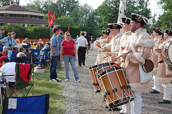 Greenfield Village drummers