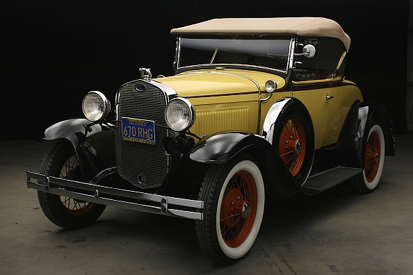 Stolen 1930 Ford Model A Convertible