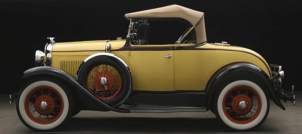 Stolen 1930 Ford Model A Convertible