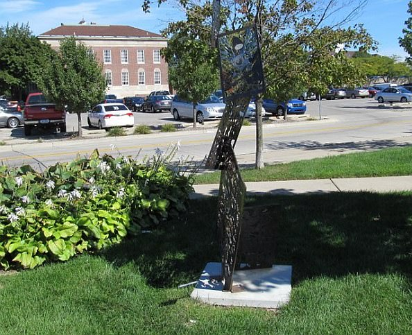 Spirit of Comics - Sept 2012 - Sculpture in Dearborn