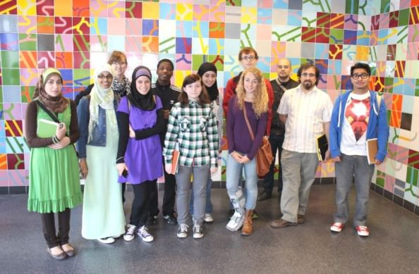 The Dearborn Community Fund (DCF) announced names of students representing three  Dearborn public high schools on the 2012-13 POP project design team. The students will collaborate in designing a mosaic wall for Dearborn's new Intermodal Passenger Rail Station.