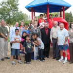 Severstal Donates Playscape to Dearborn's Morningside Park