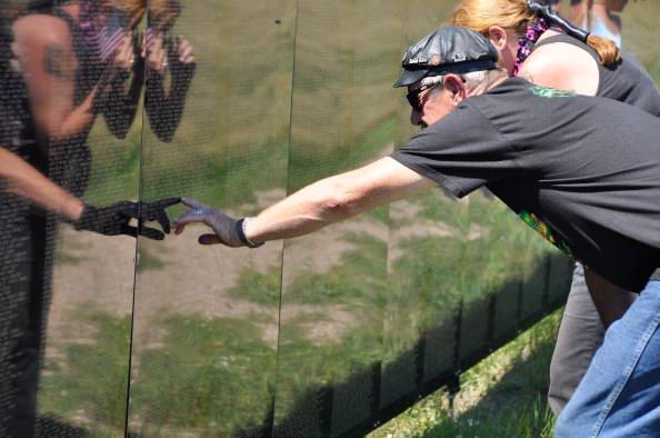 Wall That Heals - Vietnam Veterans Memorial Wall