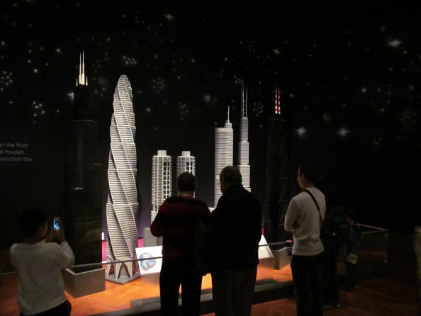 LEGO Models of the world's tall buildings