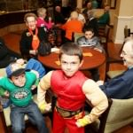 Great Grandmothers celebrate Halloween