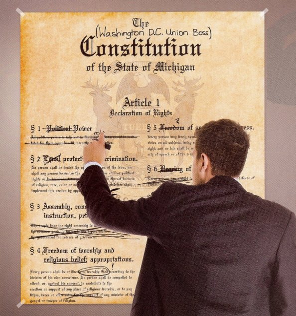 Modifying Michigan's constitution? - Vote NO on proposal 2