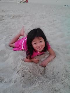 Ella - at the Beach