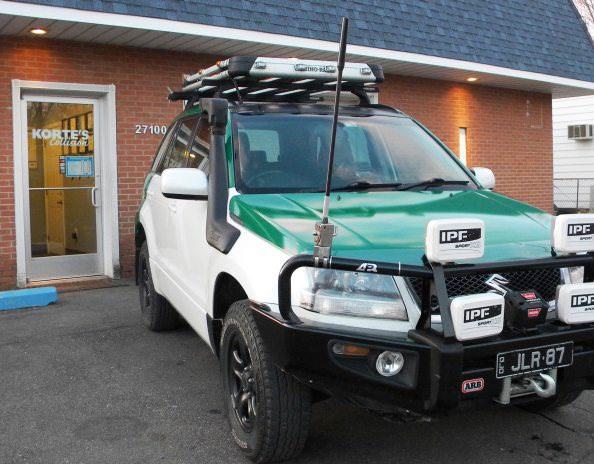 Repairs completed on the 2009 Suzuki Grand Vitara