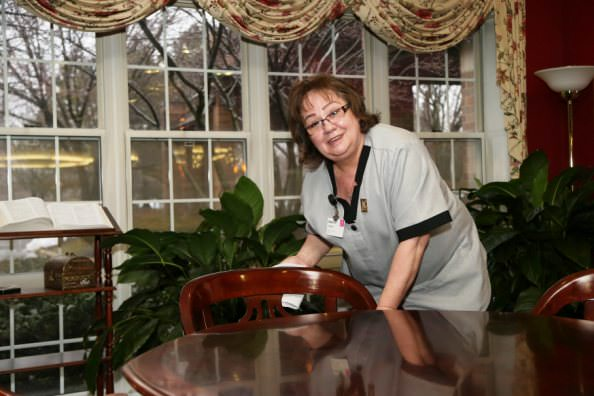 Oakwood Common Housekeeper Stefania Chochol
