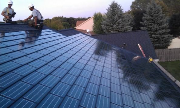 DOW POWERHOUSE solar shingles