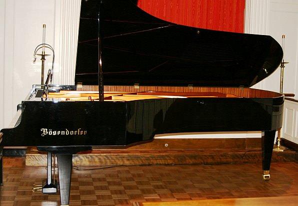 Bosendorfer Imperial Concert Grand Piano at Cherry Hill Presbyterian Church