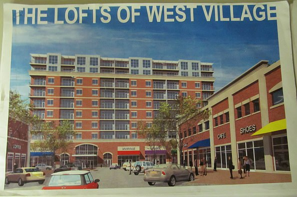The Lofts of West Village -  a proposed development that was never constructed.