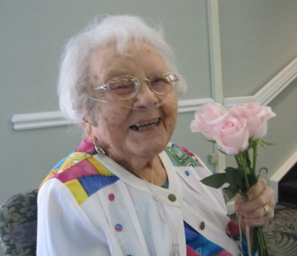 Margaret Belloff - 100th birthday